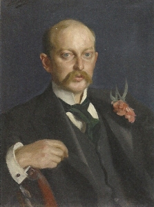 William Amory Gardner's portrait by Anders Zorn