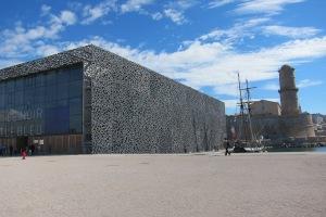 Le musée des Civilisations de l' Europe et de la Méditerranée (MuCEM)