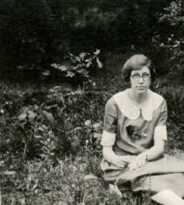 Marion Rawson, ca. 1920. From her scrapbook in Bryn Mawr College Special