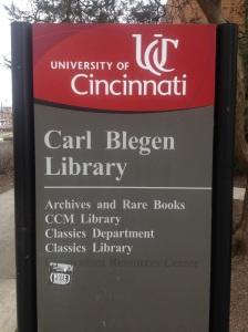 Blegen Library_UC