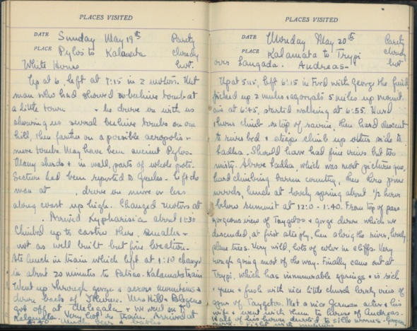 Marion Rawson's Diary from 1929