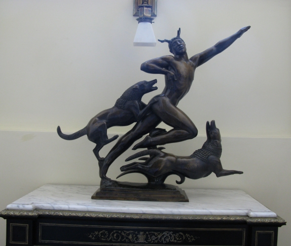 Actaeon by Paul Manship at the American School of Classical Studies at Athens