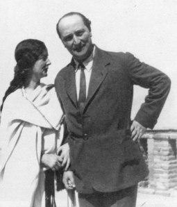 Angelos Sikelianos and Eva Palmer Sikelianou at Delphi, 1926