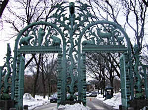 The Rainey Memorial Gate at Bronx's Zoo