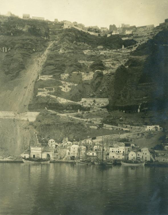 Santorini, 1923 (ASCSA Archives, Carl W. Blegen Papers)