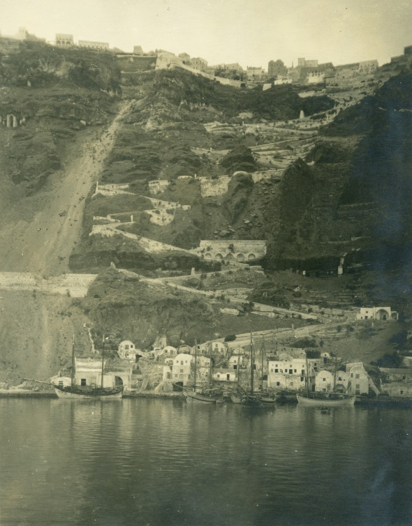 Santorini, 1923 (ASCSA Archives, Carl W. Blegen Papers)