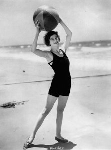 An Annette Kellerman swimsuit from the 1920s