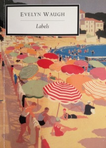 My Penguin copy of Labels by Evelyn Waugh