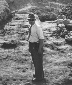 Oscar Broneer, 1930s.