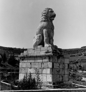 The Lion of Amphipolis. Photo ASCSA Archaeological Photographic Collection