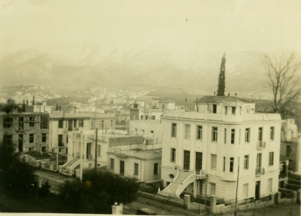 The Admiral's House in 1931 (ASCSA Archives)