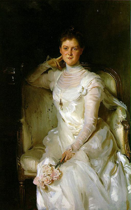 Sarah Choate Sears. Portrait by John Sargent, 1889.