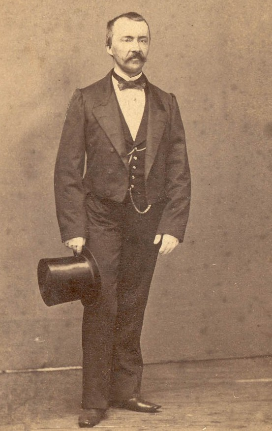 Heinrich Schliemann in the 1850s