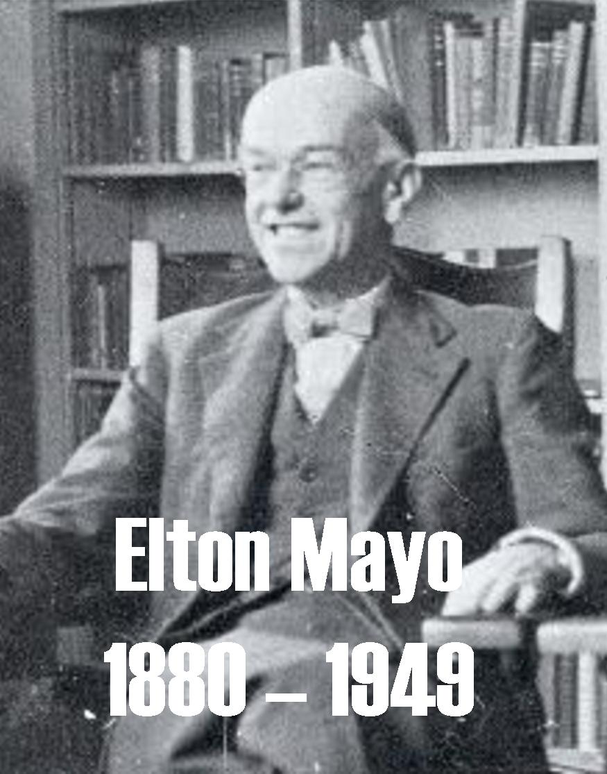 george elton mayo essay