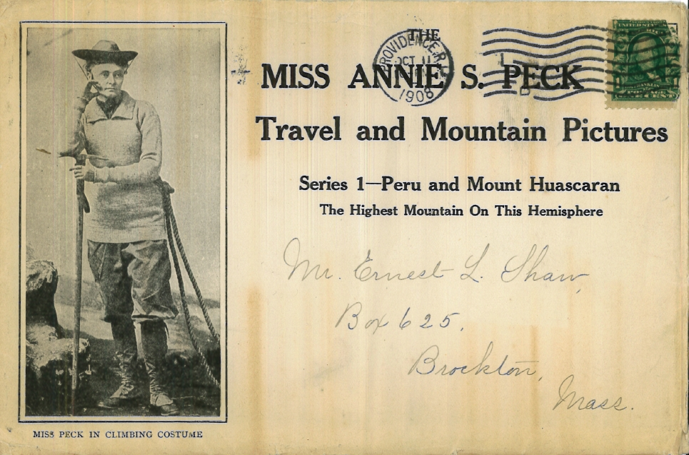 Archives from the Trash: The Multidimensional Annie Smith Peck—Mountaineer, Suffragette, Classicist (1/6)