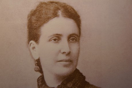 Sophia Schliemann in the 1870s
