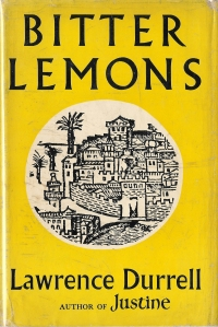 My copy of Bitter Lemons (first edition, 1957)