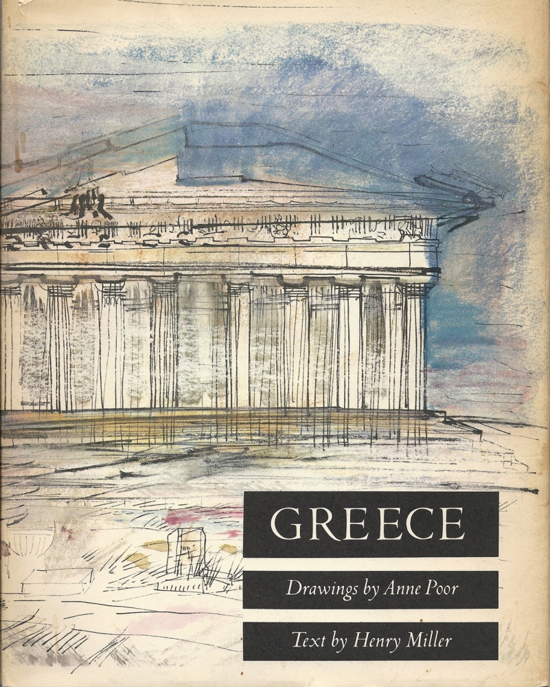 Henry Miller's Timeless Greece through the Drawings of Anne Poor (1/6)