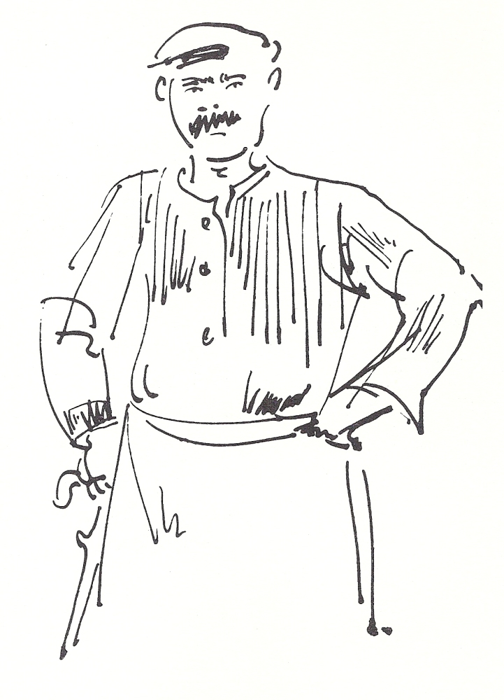 Henry Miller's Timeless Greece through the Drawings of Anne Poor (6/6)