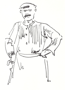 Henry Miller's Timeless Greece through the Drawings of