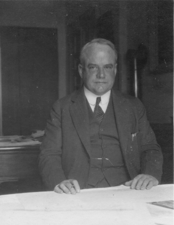 David M. Robinson, 1931. Photo taken by Francis H. Bacon (ASCSA Archives, Francis Henry Bacon Papers).