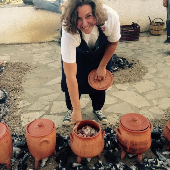 Jerolyn Morrison of Minoan Tastes in action