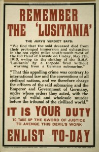 REMEMBER LUSITANIA