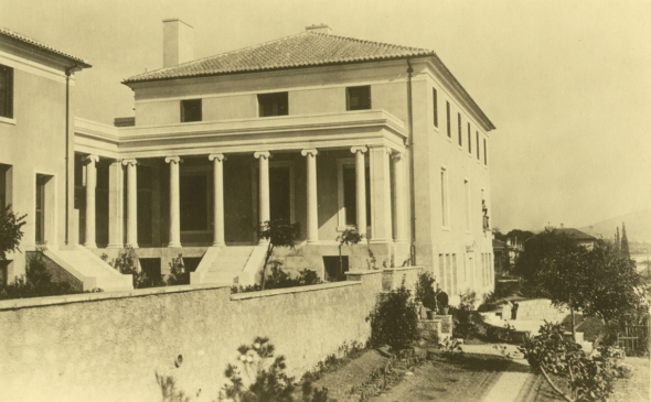 Loring Hall on 61 Speusippou (Souidias today), 1929. Source: ASCSA Archives