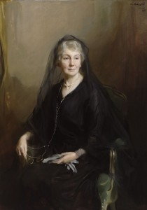 Portrait of Florence Laing Gennadius, 1925. By Philippe de Lazslo. ASCSA, Gennadius Library