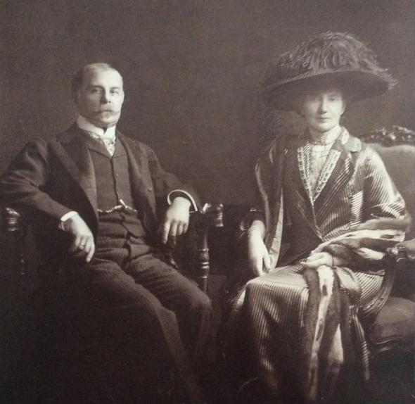 John and Florence Gennadius, ca. 1925. Source: ASCSA, Gennadius Library.