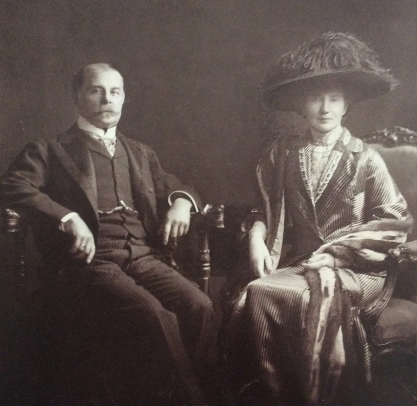 John and Florence Gennadius, ca. 1925. Source: ASCSA, Gennadius Library.