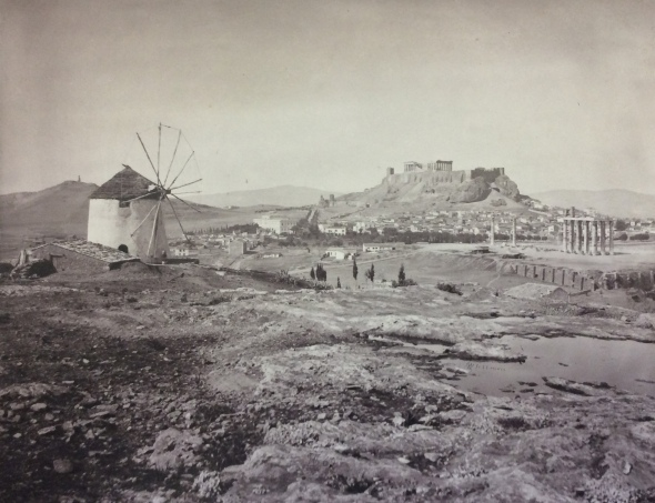 Athens in 1869. Another photo by William J. Stillman published in The Acropolis of Athens, London 1870.