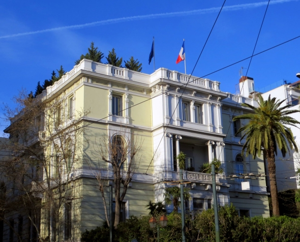 """Hôtel Merlin de Douai"" (French Embassy at Athens)"